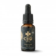 Premium Gold CBD Olie 20ml - 25% (5000mg)