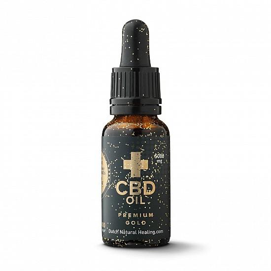 Premium Gold CBD Öl 20ml - 25% (5000mg)