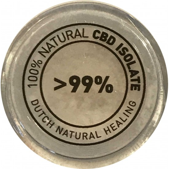 CBD isolate 1gr. - (99,8% CBD) crystals