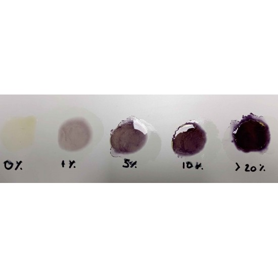 1x CBD Test Purple - kit de détection de CBD