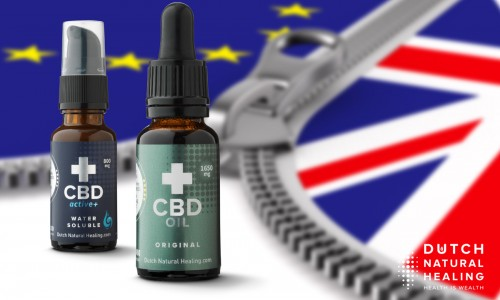 Order Dutch CBD oil after BREXIT: UK availability and shipping