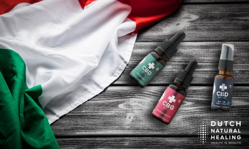 Order CBD oil in Italy: DNH opens franchise for local support and fast delivery