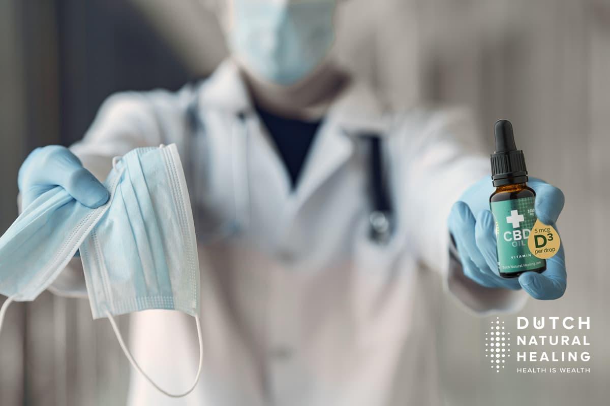 CBD-Öl zur Behandlung von COVID-19-Patienten in österreichischen Krankenhaus