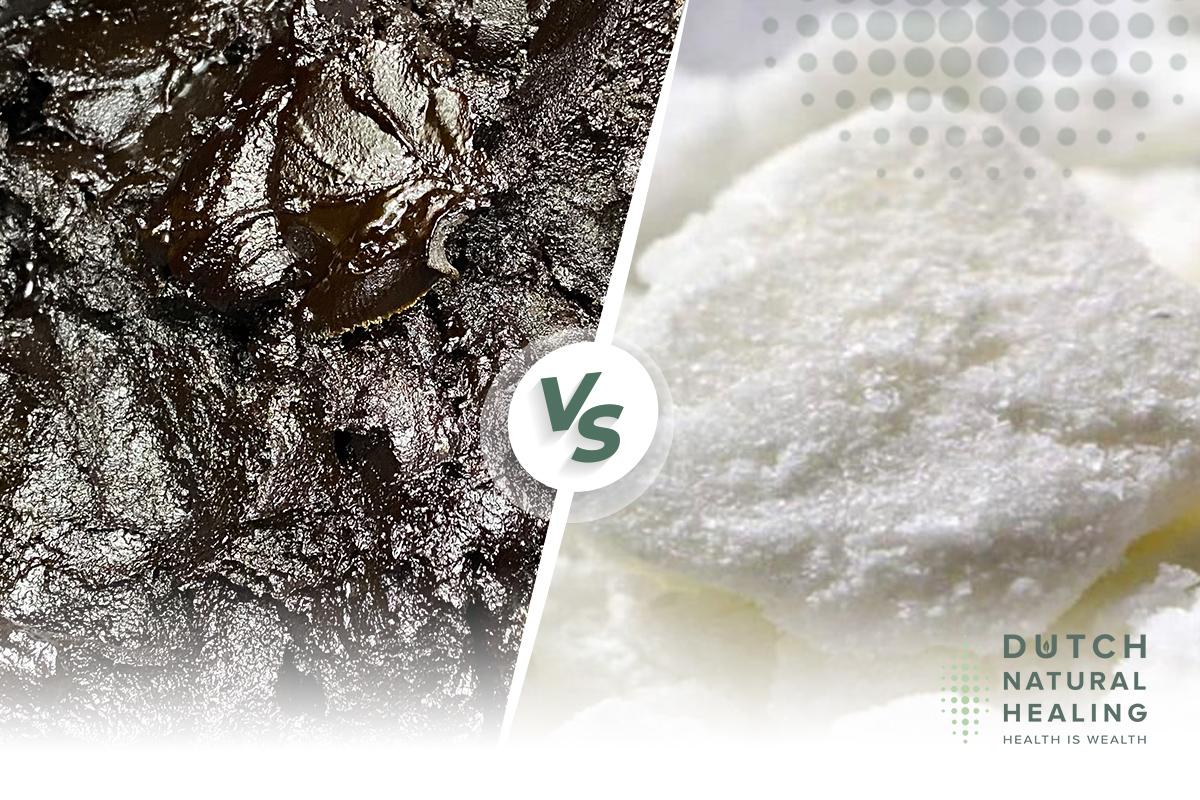 Utilisation de Cannabidiol pur : Pâte de CBD et cristaux d'isolats de CBD