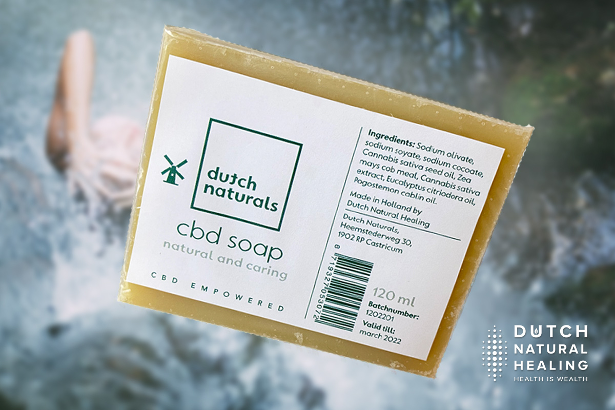 Natural CBD Soap: wash your hands and care for your skin