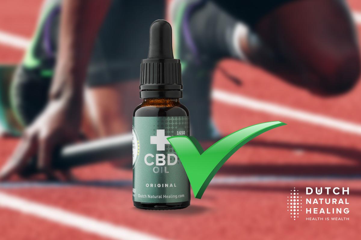 'THC-vrije' Broad Spectrum CBD olie door werk of sport? Onnodig!