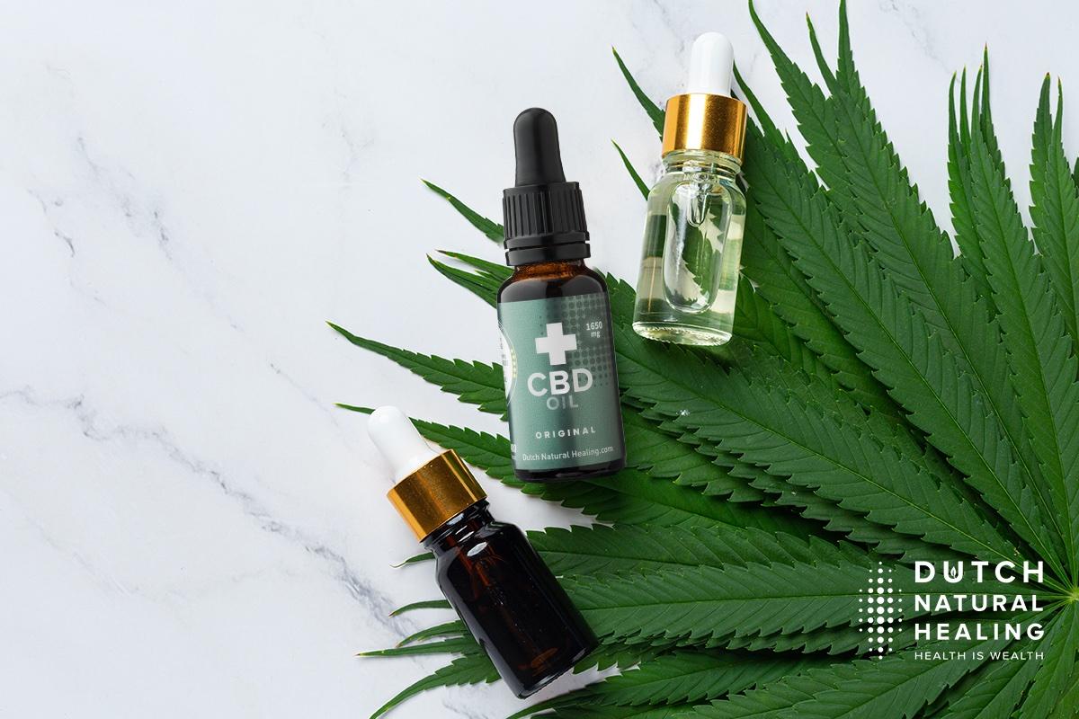Is CDB olie, wietolie, cannabisolie en hennepolie hetzelfde als CBD olie?