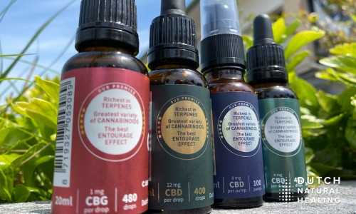 The entourage-effect: important synergy for effective CBD oil
