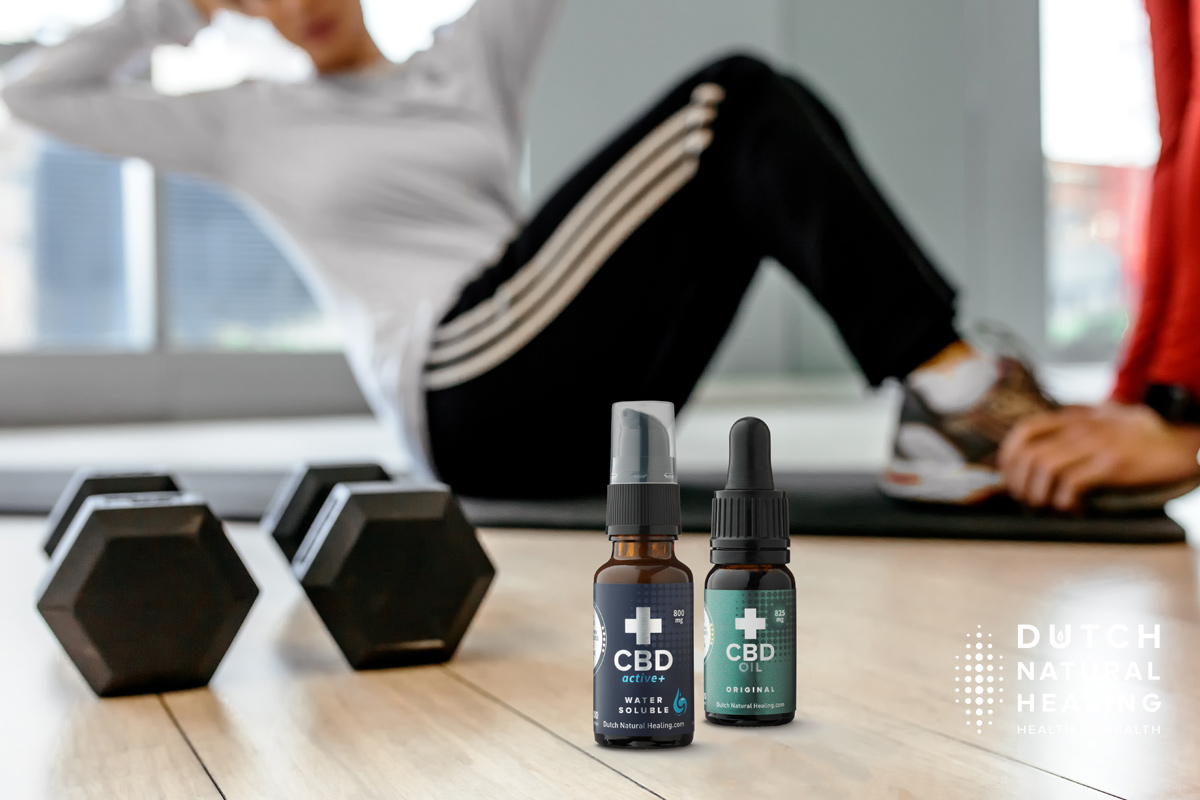 Fit with CBD: 3x how CBD oil might help you get (back) in shape!