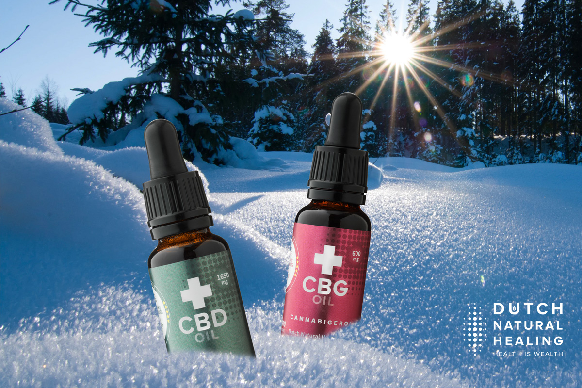 How hemp products like CBD and CBG oil might help you through the winter