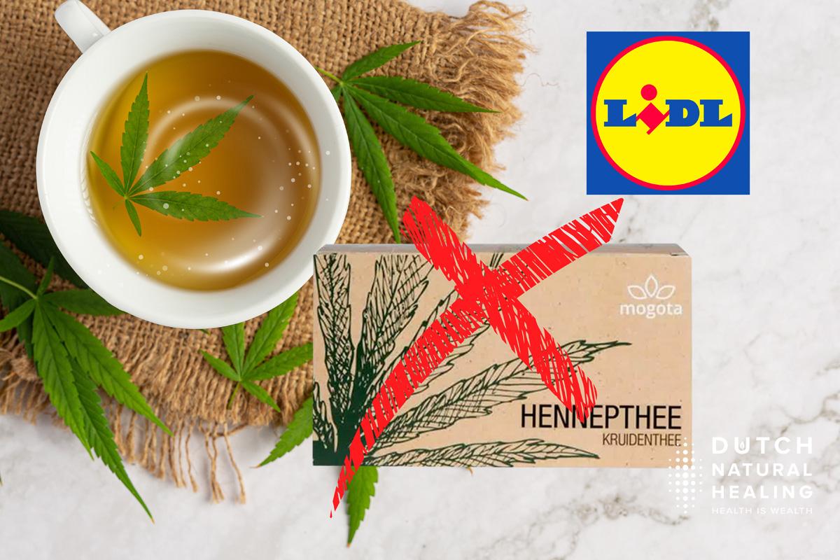 Tee oje! Produkt-Rückruf bei Lidl seines CBD-Hanftees aufgrund zu hohem THC-Gehalt