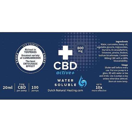 CBDactive+ 20ml - 4% (800mg)