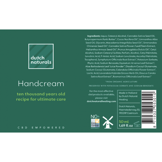 CBD Handcreme 50ml - 125mg