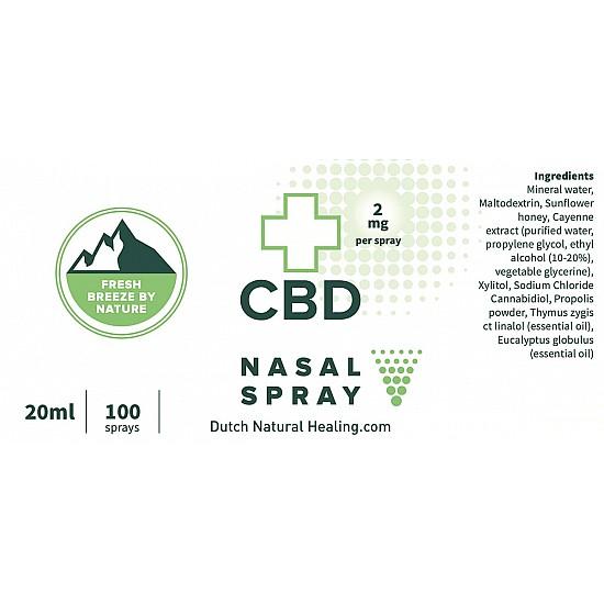 CBD Neusspray 20ml - 1%