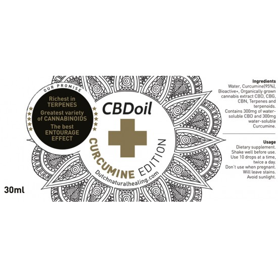 Curcumine CBD edition 30ml