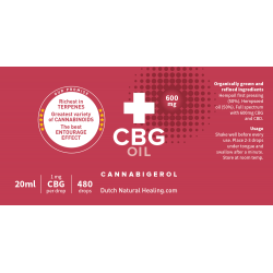 CBG oil 20ml - 3% (600mg)