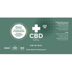 CBD oil 20 ml - 8% (1650mg)