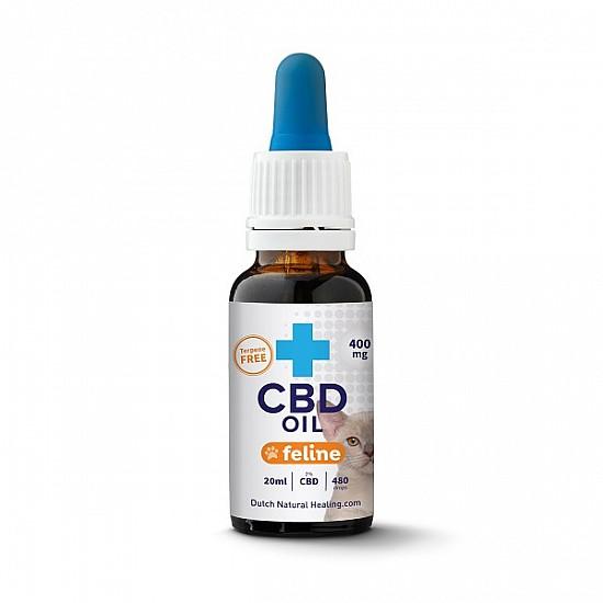 CBD Öl für Katzen 20ml - 2% (400mg)