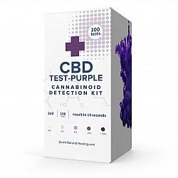 100x CBD Test Purple  - CBD detection fluid