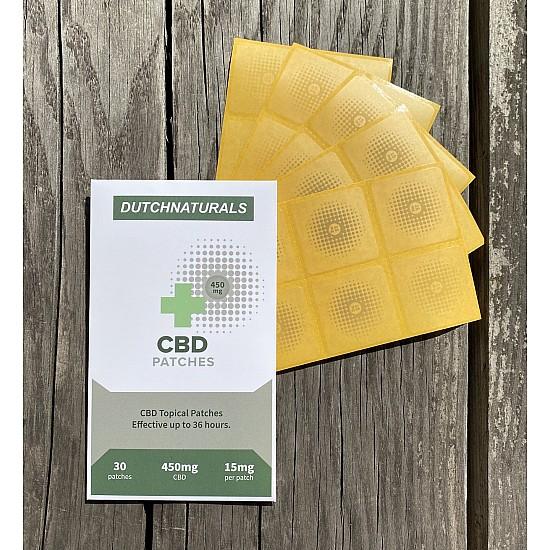 Topische CBD-Pflaster 30x15 mg - 450mg