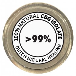 CBG Isolate Crystals 1gr. - 99,8% Cannabigerol