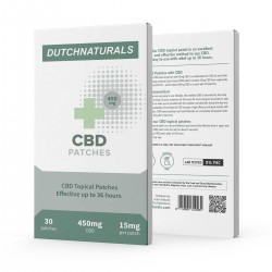 CBD Pleisters 30 x 15mg - 450mg