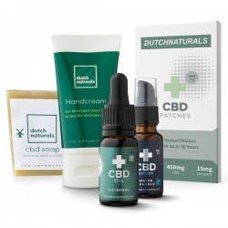 CBD Sample pack BASIC - 5 pieces (1900mg Cannabidiol)