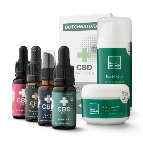 CBD Sample pack PLUS - 7 pieces (5000mg Cannabidiol)