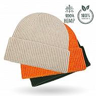 Mütze (aus Hanffaser) - Modische Strickmütze in 8 Farben