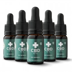 5x CBD oil 10 ml - 8% (4125mg)