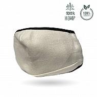 Face mask (hemp fiber) - High protection reusable mouth mask
