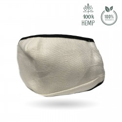 Face mask (hemp fiber) - High protection reusable mouth mask