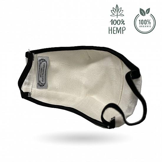 Hanffaser-Gesichtsmaske - wiederverwendbare mit hohem Schutz