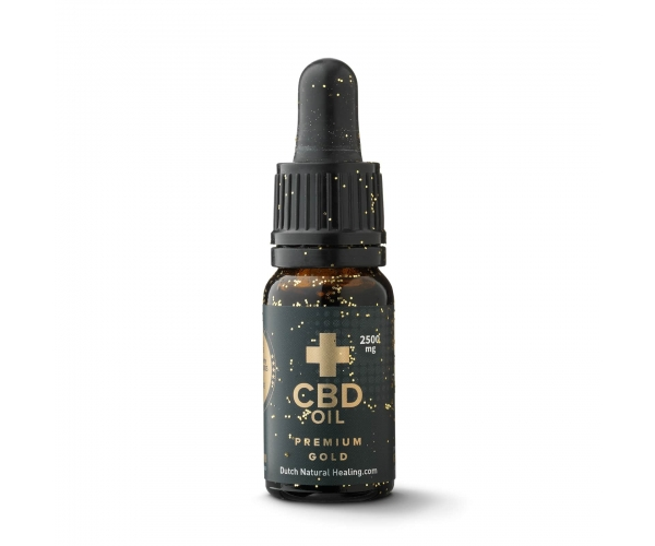 CBD Oil 10ml 25% Gold edition