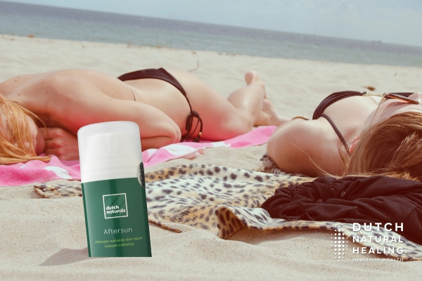 Cool and repair a sunburned skin with CBD Aftersun Gel