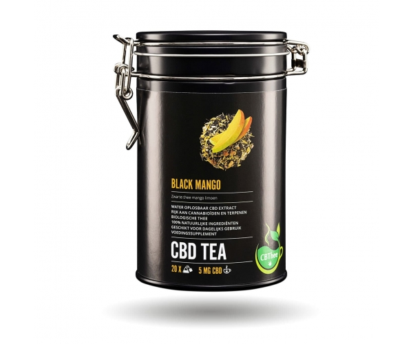 CBD Tea Black Mango - (20 x 5mg)