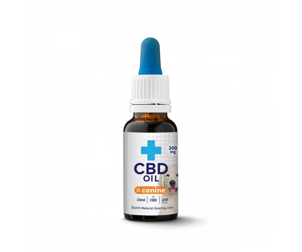 CBD oil for dogs 10ml - 2% (200mg)