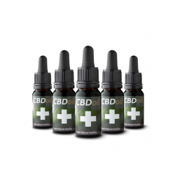 CBD Oil 10 ml x 5