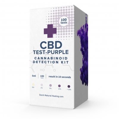 CBD Test Kit Purple 100