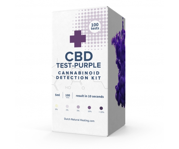 100x CBD Test Purple  - CBD detection fluid