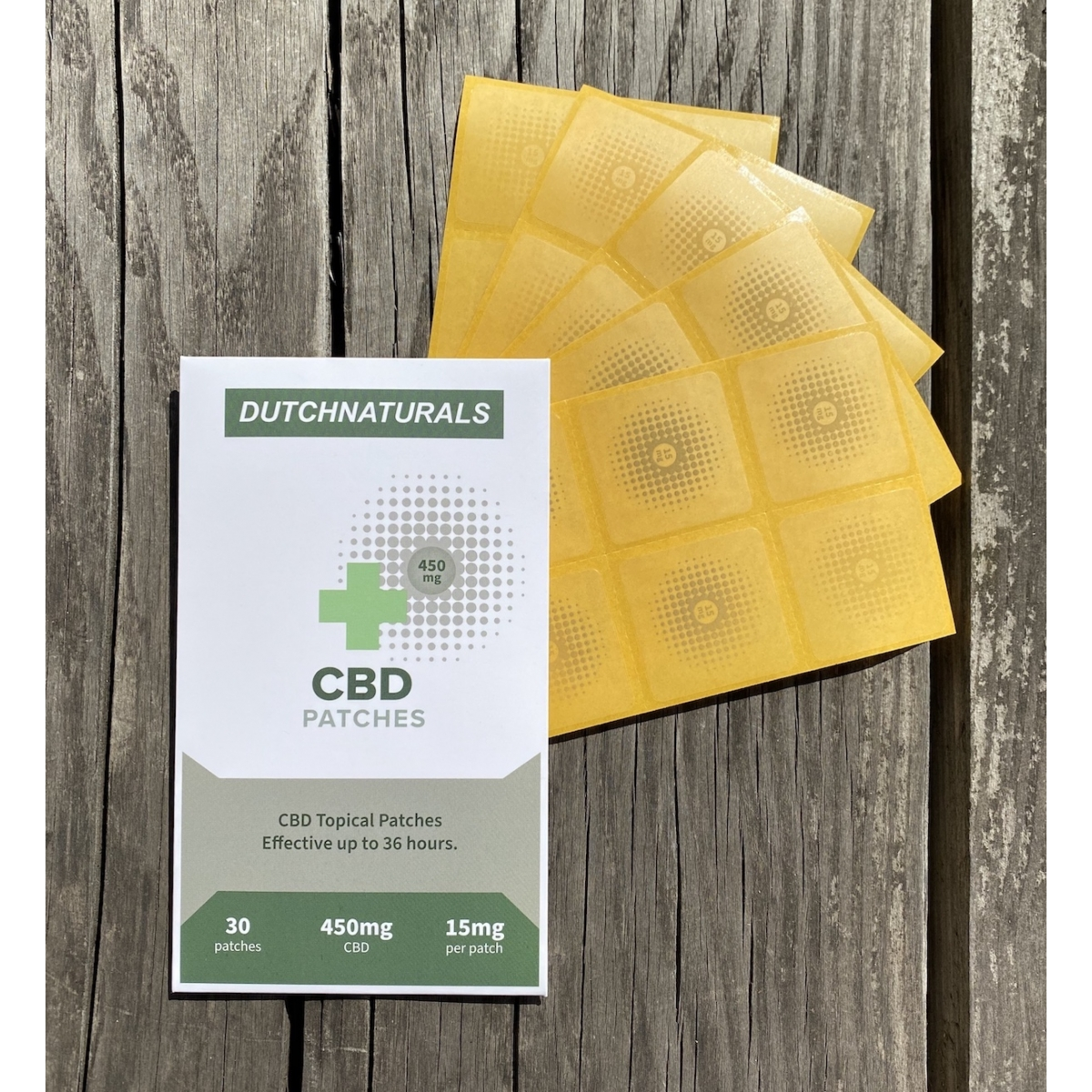 CBD Topical Patches 30 x 15mg - 450mg