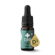 CBD Öl + Vitamin D3 10ml - 8% (825 mg)