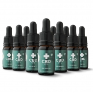 CBD Olie 10ml x 10 x 825mg