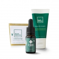 CBD Sample pack START - 3 pieces (1050mg Cannabidiol)