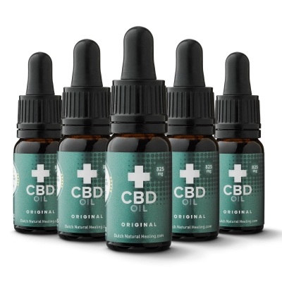 CBD Oil 10ml x 5 x 825mg