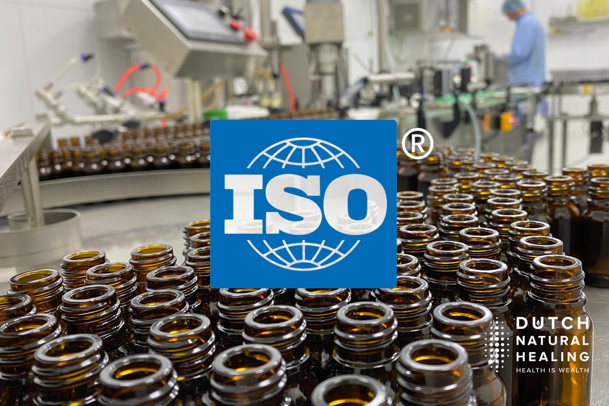 iso gecertificeerde cbd olie productie hoge kwaliteit standaard