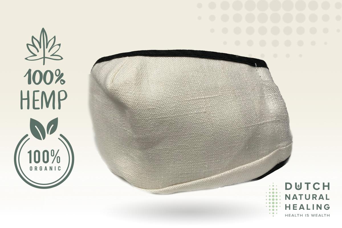Protégez-vous avec un MASQUE FACIAL GRATUIT en fibre de chanvre