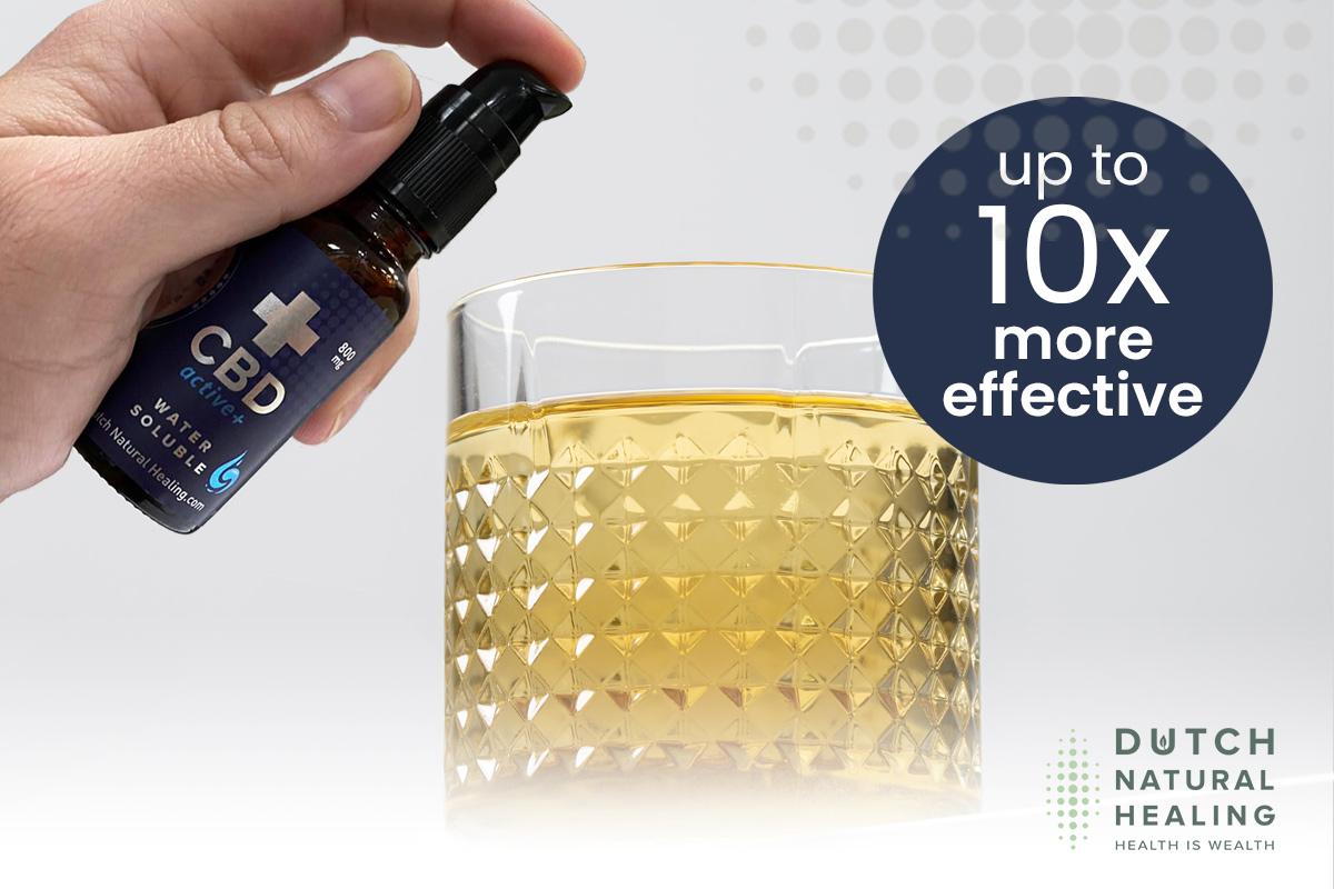 huile de CBD soluble