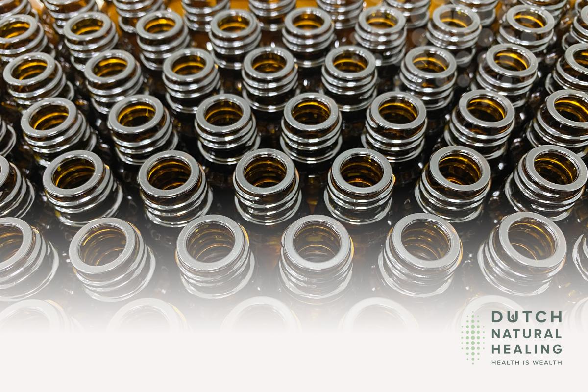cbd oil dark bottle uv light terpenes